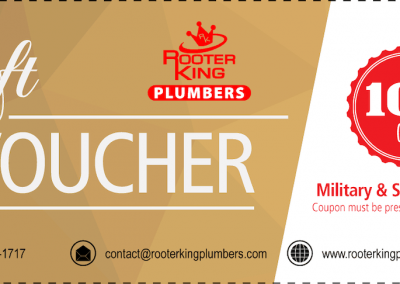 Marietta Plumbers Voucher 10 Percent Off Military Senior