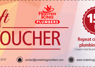 Marietta Plumbers Voucher 15 Percent Off Repeat Customer
